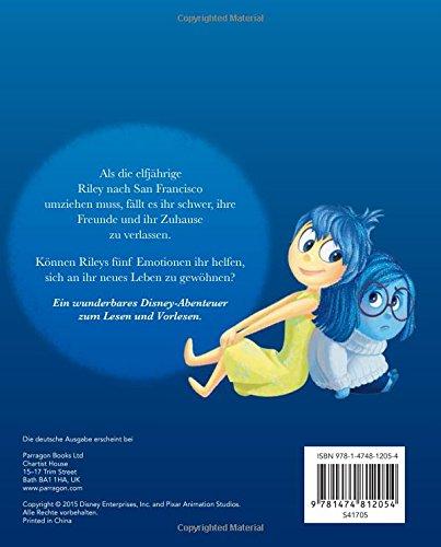 Disney Buch zum Film - Alles steht Kopf: mit Hologramm -Bild