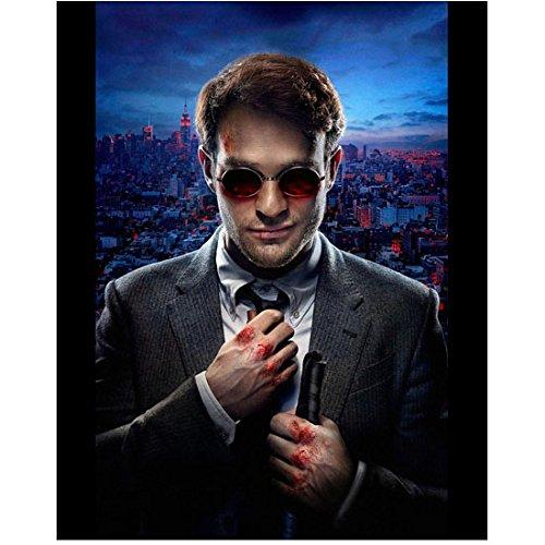 Daredevil Charlie Cox as Matt Murdock Pulling Tie 8 x 10 Photo