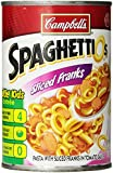 Campbell's Sliced Frank SpaghettiOs, 14.75 Ounce Cans (Pack of 12)