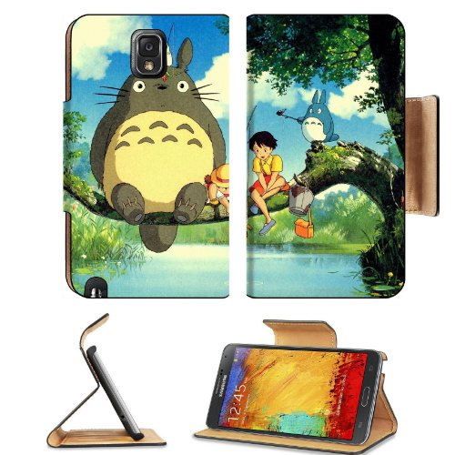 My Neighbor Totoro Group Collection Samsung Galaxy Note 3 N9000 Flip Case Stand Magnetic Cover Open Ports Customized Made To Order Support Ready Premium Deluxe Pu Leather 5 15/16 Inch (150Mm) X 3 1/2 Inch (89Mm) X 9/16 Inch (14Mm) Liil Note Cover Professi front-718107