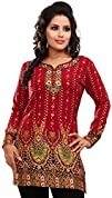 Women's Indian Kurti Top (Tunic) Prin…