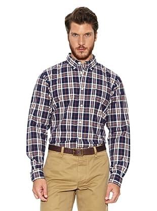 Dockers Camisa Oxford (Azul / Beige)