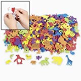 Foam Self-Adhesive Animal Shapes (500 PC)