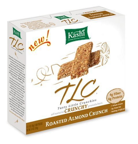Buy Kashi TLC Crunchy Granola Bar,  Roasted Almond Crunch, 6-1.4 oz bars (Pack of 12 boxes) (Kashi, Health & Personal Care, Products, Food & Snacks, Breakfast Foods)