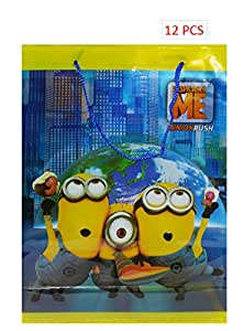 hik 12 Pack Disney Despicable Me Minions Rush Party Gift Bags Toys bag BAGS PARTY FAVOR BAGS GIFT BAGS