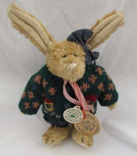 "Boyds Bears Plush- Boyd's Bears & Friends- 8"" Emily Babbit Rabbit- Retired - 1"