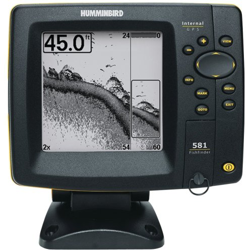 Fish finder gps combo humminbird 581i di fishfinder gps for Fish finder with gps