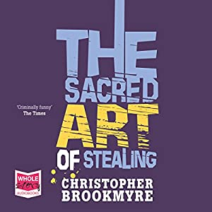 The Sacred Art of Stealing Audiobook