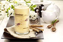 DIAMOND CANDLES - VANILLA CREAM