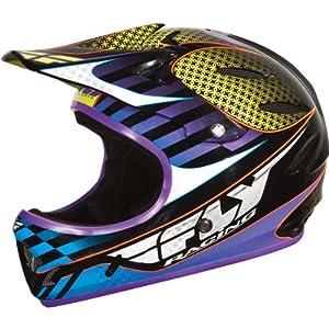 Fly Racing Lancer Youth Full Face Bike Racing BMX Helmet - VooDoo / Medium