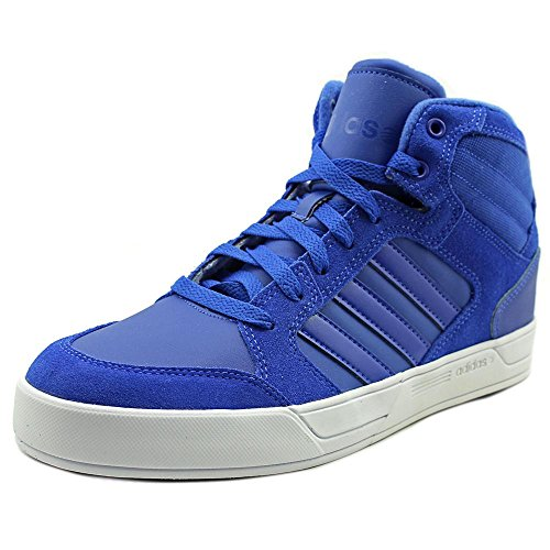 Adidas Men's Raleigh Mid Fashion Sneakers (8.5 D(M) US, Blue/Blue/Flash White)