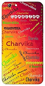 Charvika (Beautiful) Name & Sign Printed All over customize & Personalized!! Protective back cover for your Smart Phone : Moto G3 ( 3rd Gen )