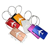 Hibate-Metal-Luggage-Tags-Suitcase-Bag-Labels-Baggage-Accessories-Set-of-7