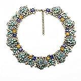 Fun Daisy New Design Jewelry Vintage Grand Choker Rhinestones Fashion Necklace