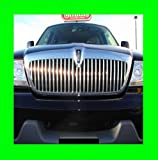 LINCOLN AVIATOR 2003-2005 CHROME GRILLE GRILL KIT 03 04 05 2004 LX LUXURY