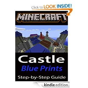 Minecraft building guide castle step by step in by for Build a house step by step guide