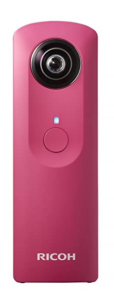 RICOH digital camera RICOH THETA m15 Pink 360 ° all the celestial sphere image shooting device 0,910,701