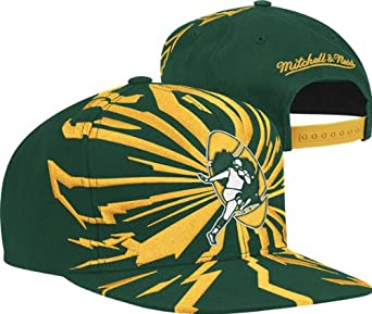 Green Bay Packers Nfl Snapback Cap by Mitchell & Ness
