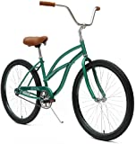 Critical Cycles Women's Beach Cruiser 1-Speed Bike