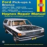img - for Ford Pick-up & Bronco 1980-1996. Repair Manual 1997 2WD&4WD F-250HD&F-350 (Hayne's Automotive Repair Manual) (Haynes Repair Manual) book / textbook / text book
