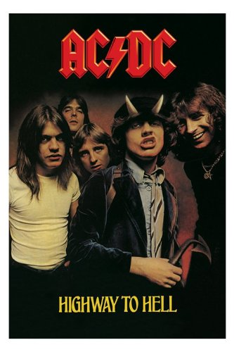 Poster Ac Dc - highway to hell, (61 x 91 cm), 61 x 91 cm