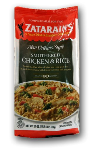 Zatarain's Smothered Chicken and Rice Meal (5 Units Included per Order) (Smothered Chicken Rice compare prices)