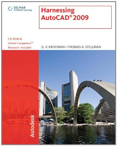 Harnessing AutoCAD  2009 (Autodesk) - Autodesk Press - 1435402596 - ISBN:1435402596