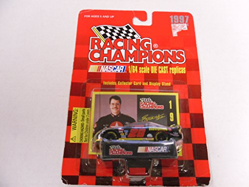 Racing Champions 1/64 scale diecast with collectible card 1997 edition #28 Ernie Irvan - 1