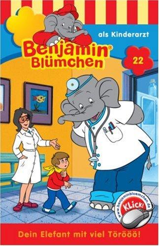 22 - Benjamin Blümchen - Folge 22: als Kinderarzt [Musikkassette] [Musikkassette] - Zortam Music