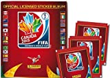 2015 Panini FIFA Womens World Cup Soccer Canada - Collectors Sticker Starter Kit (Soccer Card Stickers) Album + 20 Packs