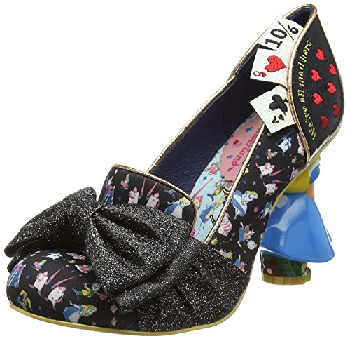 Irregular ChoiceWonderland This Way - Scarpe con Tacco donna , Nero (Nero), 38