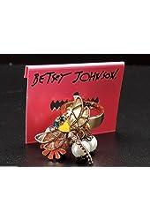 Betsey Johnson Flower Girl Goldtone Ring