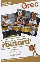 Guide du Routard Conversation Grec