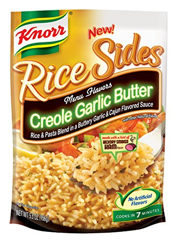 Knorr Rice Sides, Creole Garlic Butter, 5.5 Ounce (Pack Of 12)