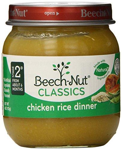 Beech-Nut, Chicken Rice Dinner, 4 Ounce (Pack Of 10)