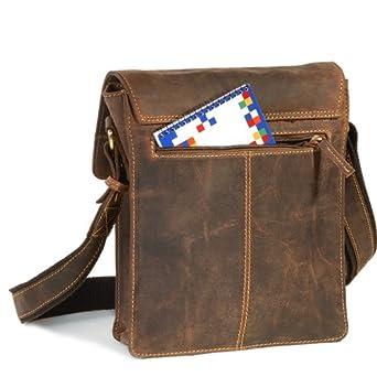 a321af9f89c34 Now the price for click the link below to check it. GreenBurry lässige  Vintage Leder Kurier Tasche Messenger Bag Schultertasche