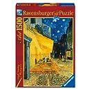 Ravensburger - 16209 - Puzzle - Terrasse de café,le soir - 1500 Pièces