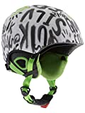 Quiksilver Boy's Game B Snowboard and Skiing Helmets - White, Size 56