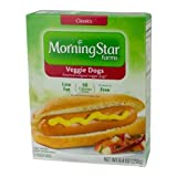 MorningStar Farms Veggie Dogs, 8.4 Ounce - 8 per case.