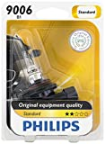 Philips 9006 Standard Halogen Replacement Headlight Bulb, Pack of 1