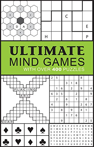 Ultimate Mind Games: With Over 400 Puzzles (Puzzle Books)