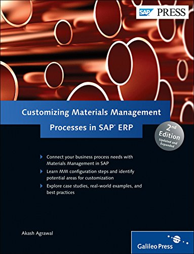 Customizing Materials Management Processes in SAP ERP (Sap Master Data Management compare prices)