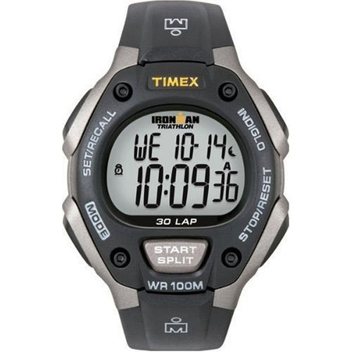 Timex Sport Ironman Fullsize Triathlon 30 Lap Watch - T5E901