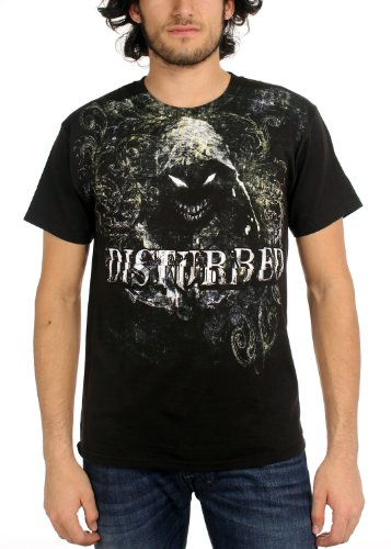 Disturbed - Sick Flourish maglietta da uomo in nero nero Small