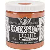 Tattered Angels Decor and DIY Paint Cup, 8 oz, Amber