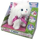 Animagic 30726.4300 Cassy de paseo - Gato de peluche con sonido, lux y movimiento, colores surtidos [importado de Alemania]