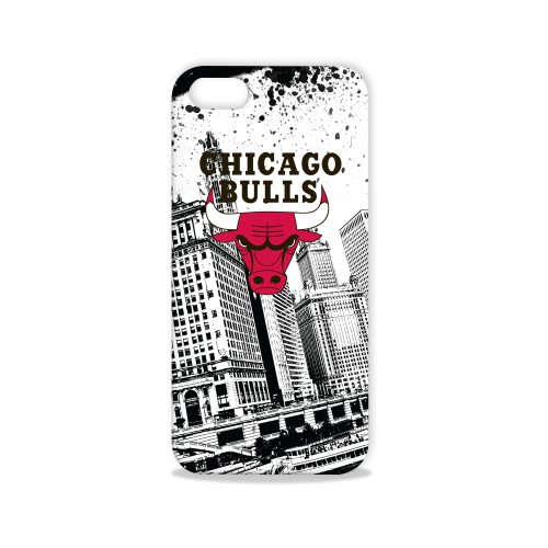 Tribeca Gear FVA7564 Hard Shell Case for iPhone 5 - Chicago Bulls - 1 Pack - Retail Packaging - Black at Amazon.com