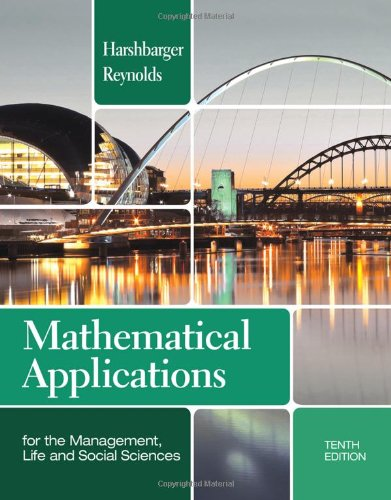 Mathematical Applications for the Management,