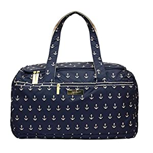 Bundle 3 Items Ju-Ju-Be Legacy Starlet Medium Travel Duffel Bag The Admiral & Bella B Honey Bum 2 oz & Bella B Babywipes 50 count from Ju-Ju-Be + Bella B