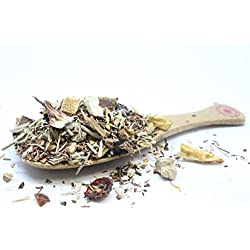 Immunity Booster Herbal Loose Tea Blend - Detox Tea - Refreshing & Relaxing - 4oz / 110g
